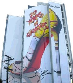 shoe #billboard