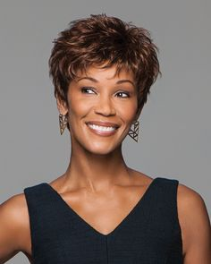 The latest synthetic and human hair wigs from Raquel Welch, Jon Renau, and more. Short Hairstyles For Thick Hair, Short Pixie Haircuts, Pixie Hairstyles, Short Hair Cuts, Braided Hairstyles, Curly Hair Styles, Natural Hair Styles, Teenage Hairstyles, Pixie Cuts