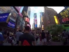 Walk in Times Square (GoPro Hero4) - YouTube