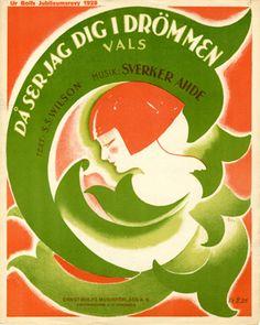 Då ser jag dig i drömmen, 1928 (ill.: Norelius); ref. 14690