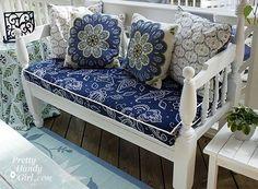 Bench cushion tutorial by keaw