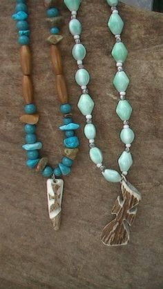 Antler Tip with Cross and Antler Cross Necklace
