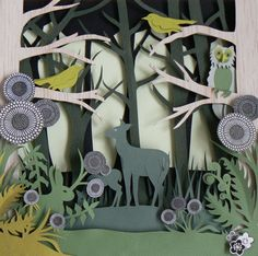 Paper sculpture for ELA tunnel book or Science project.