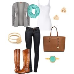 """""""Fall Fashion"""" by sarahhuff on Polyvore"""