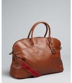 Longchamp brown leather  Au Sultan  satchel - ShopStyle 5d8b82871c2b4