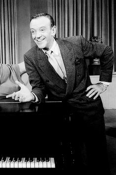 Fred Astaire.  Love the smile.  Adore his dancing!