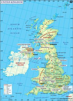 united-kingdom Map