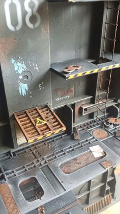 Necromunda scenery, the site is very good.