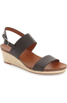 Lucky Brand 'Jette' Wedge Sandal (Women) available at #Nordstrom