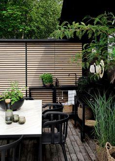 Gardening – Gardening Ideas, Tips & Techniques Outdoor Rooms, Outdoor Gardens, Outdoor Living, Patio Wall, Backyard Patio, Terrace Garden, Garden Spaces, Rain Garden, Scandinavian Garden