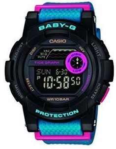 Casio Baby-G Women's Tide Graph LCD Digital Watch - BGD-180-2ER