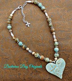 Natural Cowgirl Necklace A BuckarooBay.com Original Buckaroo Bay Cowgirl Jewelry  Western Accessories