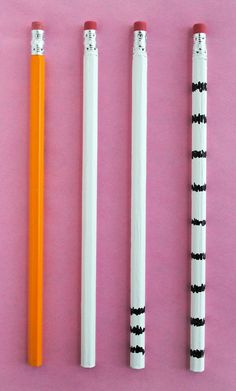 How to make The Lorax: Truffula Tree Pencils