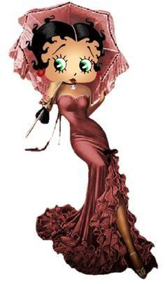 Betty Boop In The Morning Sunrise photo by khunPaulsak The Real Betty Boop, Black Betty Boop, Pin Up, Animated Cartoon Characters, Disney Characters, Animated Cartoons, Animated Gif, Betty Boop Cartoon, Image Film