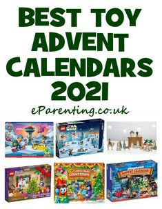 Best Toy Advent Calendars for Kids 2021 | Disney LEGO Playmobil & More Advent Calendar House, Star Wars Advent Calendar, Advent Calendar Activities, Advent Calendars For Kids, Kids Calendar, Christmas Activities, Barbie Bath, Bath Bomb Kit, Chocolate Advent Calendar