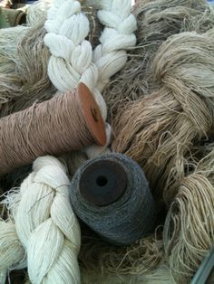 Linen is made from flax, a traditional fibre crop which needs few chemical fertilisers, and less pesticide than cotton