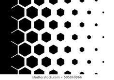 Find Gradient Background Hexagons Halftone Design Light stock images in HD and millions of other royalty-free stock photos, illustrations and vectors in the Shutterstock collection. Geometric Shapes Art, Geometric Pattern Design, Hexagon Pattern, Graphic Patterns, Pattern Art, Hexagon Tattoo, Helmet Design, Gradient Background, Texture Design