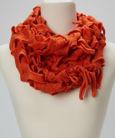 Take a look at this Orange Carwash Infinity Scarf by Full Spectrum: Fashion Scarves on @zulily today!