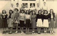 Teen fashion 1940s