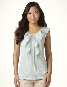 Limited Blouse. Love ruffles. :)