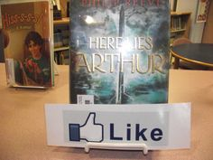 """Like"" Book Promotion.  We give kids the bookmark and they put it in books they like to encourage others to read them."
