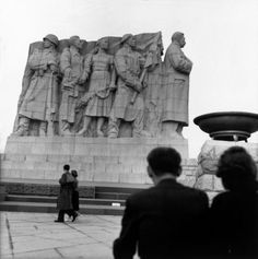 Prag,Czechoslovakia,Monument of Stalin by R. Heart Of Europe, Photographer Portfolio, Magnum Photos, World History, Czech Republic, Old Town, Budapest, Mount Rushmore, Tours