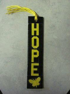 Duct Tape Endometriosis Awareness Bookmark https://m.facebook.com/ducttapedoodadsbytena/
