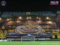 Top 20 des plus beaux tifos de supporters en tribune Psg, Ultras Football, Prince, Football Soccer, Bordeaux, Paris Saint, World, Saint Germain, Sports