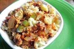 Vegan mexican cauliflower #healthy