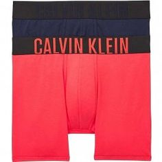 Calvin Klein Intense Power 2-Pack Boxer Brief, Strawberry Shake/Blue Shadow Calvin KleinIntense Power 2-Pack Boxer Brief, Strawberry Shake/Blue Shadow Body Defining Fit Cotton Stretch for comfort and freedom of movement Signature logo waistband with pouch front 95% Cotton, 5% Elastane Cheer Skirts, Neue Trends, Freedom Of Movement, Calvin Klein Men, Boxer Briefs, Signature Logo, Lounge Wear, Underwear, Strawberry