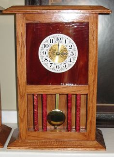 The Dale Maley Family Web Site - More Glass Clocks