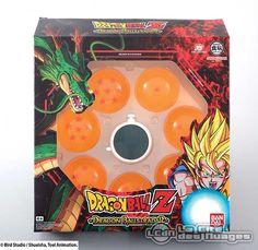 Dragonball Z Répliques des 7 Boules de Cristal avec Radar Bandai Europe