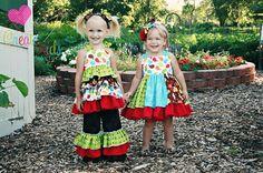 Create Kids Couture - Mia's Reverse Knot Twirly Dress PDF Pattern, $8.00 (http://createkidscouture.com/mias-girls.html)