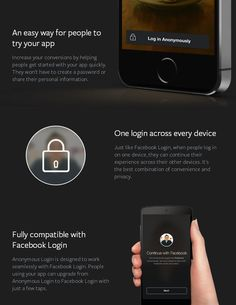 Facebook releases Anonymous Login!