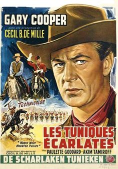 1940 western movie | ... West Mounted Police / Scarlet Riders) 1940 - Documents et Affiches: