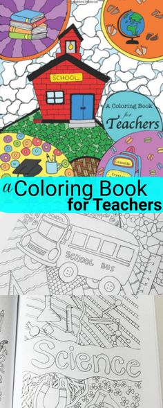 This adult coloring book for teachers is AWESOME! I can't wait to buy them for all of my kid's teachers for Christmas gifts and Teacher Appreciation Day gifts! Definitely one of the best coloring books I've seen! Love the school & education theme!