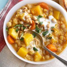 Pumpkin Chickpea Stew Crock Pot