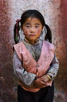 julialeena:  Child in Tibet by Steve McCurry