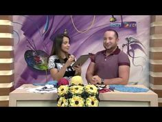 Crochetando com EuroRoma e Marcelo Nunes - Sousplat Borboleta | Parte 1 - YouTube