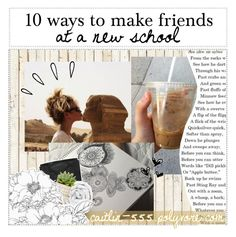 """""""★: 10 ways to make a friend at a new school / tipper / caity"""" by constellations-of-wonder ❤ liked on Polyvore featuring interior, interiors, interior design, home, home decor, interior decorating, NLXL, Chanel, Brinkhaus and Old Navy"""