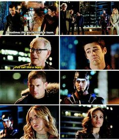 Legends Of Tomorrow The Team