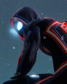 Spiderman Suits, Spiderman Art, Miles Morales, Black Dragon, Marvel Wallpaper, Spider Verse, Tokyo Ghoul, Superhero, Fictional Characters