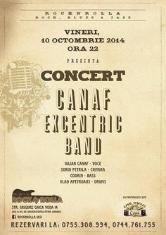 Concert Canaf Excentric Band @RocnRolla