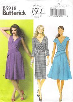 Butterick 5918 Misses' Dress