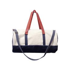 """Pop Waxed Canvas Duffle """"Resistance"""" Tote 