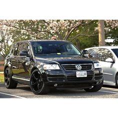 VW Touareg, luxury SUV!
