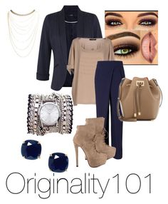 """""""Untitled #80"""" by originality101 on Polyvore featuring Sara Designs, Miss Selfridge, Twin-Set, Rejina Pyo, Luichiny, Michael Kors, Kate Spade and Wet Seal"""