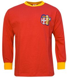 A.S.ROMA Maglia anno 1941/42 ITALIA As Roma, Vintage Football, Football Jerseys, Posters, Illustrations, Game, Long Sleeve, Sports, Sleeves