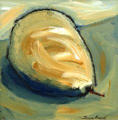 Contemporary still life painting  on canvas by ByTheBayArtist, $95.00