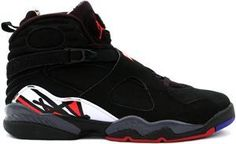 OnlyJos** **era                    04/10/2010 AIR JORDAN 8  RETRO BLACK VARSITY RED WHITE PLAYOFFS Free Shipping!